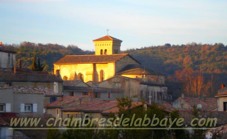 chambre de l'abbaye N°1 - Saint-Hilaire - Bed & Breakfast