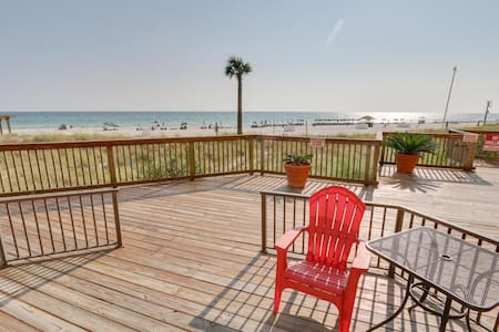 1st floor BEACH FRONT walkout condo - Panama City Beach