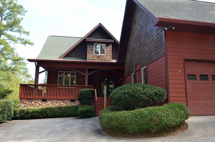 Elegant NW GA Lake Home- Adult Only 2-4 Persons - Plainville - Huis