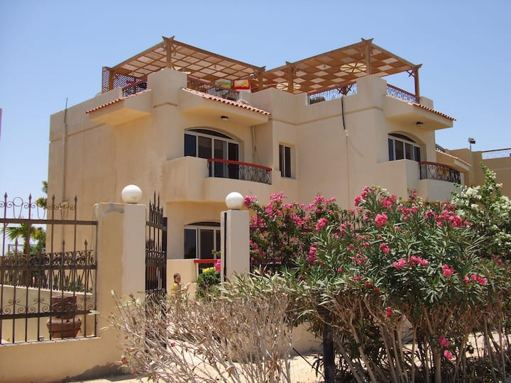 Villa in Hurghada direkt am Meer