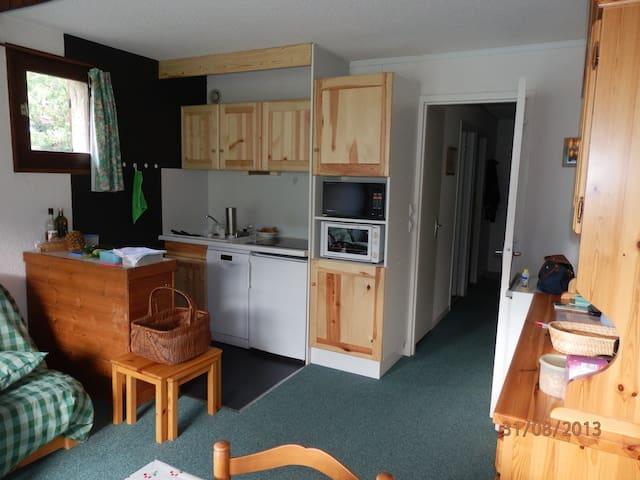 Appartement pour 4 dans Résidence - Vallouise - Lägenhet