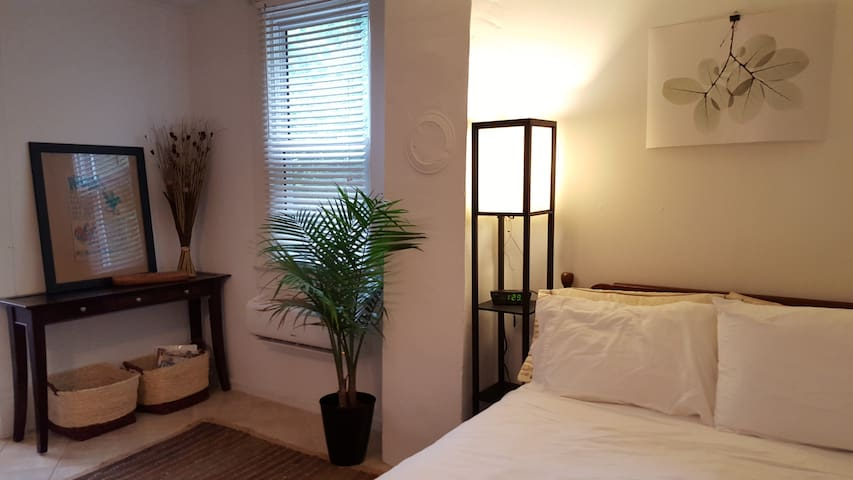 Studio Apartment with Courtyard - Aberdeen