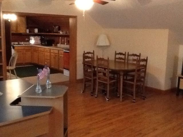 Boggs Haven Apartment - Winterville - Byt