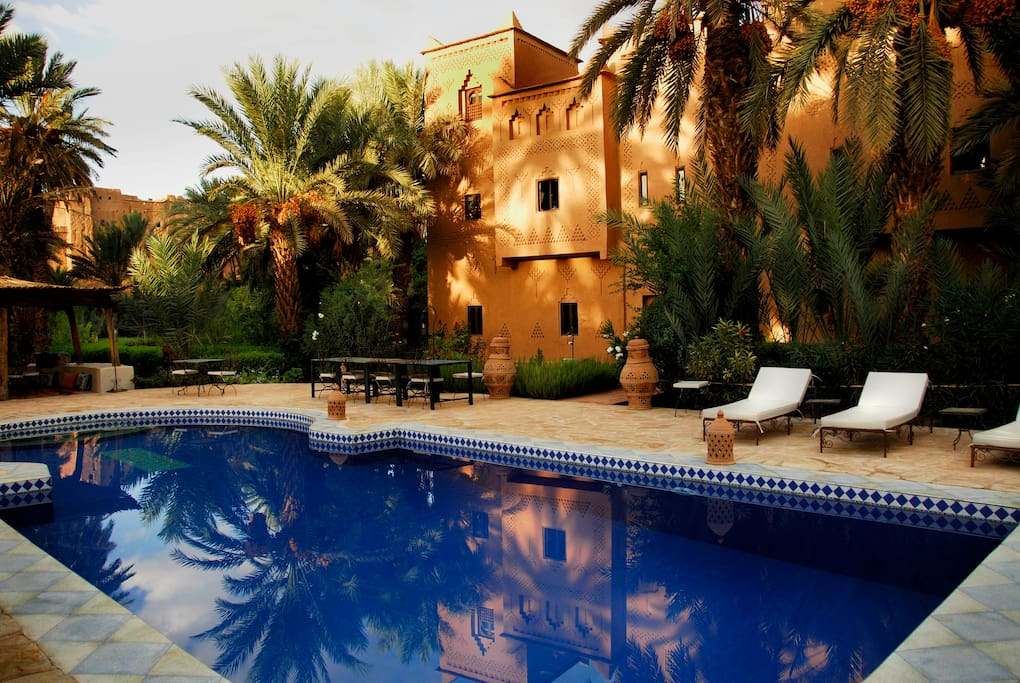 Maison d 39 h tes kasbah azul bed breakfasts for rent in for Morocco motors erie pa