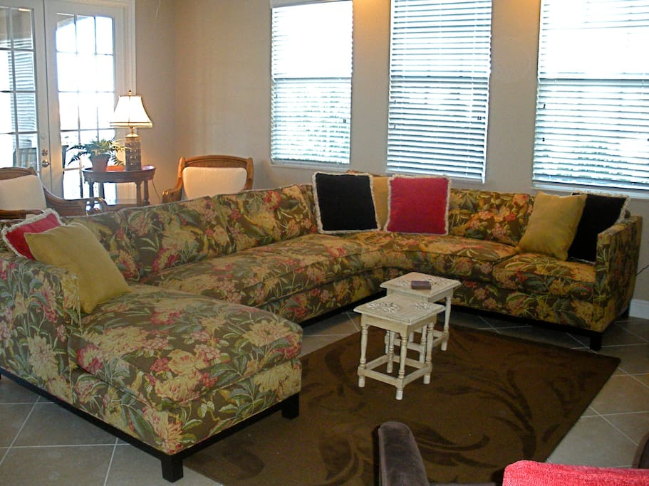 Great Room with sectional