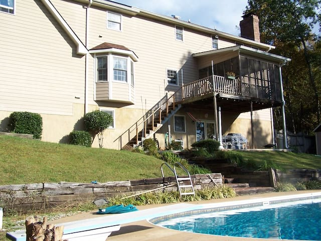 Ooltewah/ Collegedale TN apartment - Ooltewah - Daire