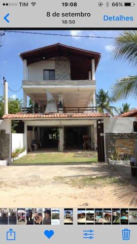 Casa de praia mobiliada - Sirinhaem