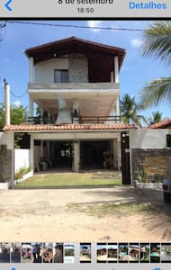 Casa de praia mobiliada - Sirinhaem - Hus