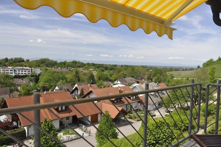Im Vogelnest - A Bird's Eye View - Sulzburg - อพาร์ทเมนท์