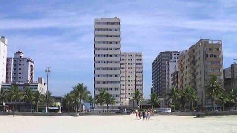 Apto de frente ao mar - Praia Grande, guilhermina