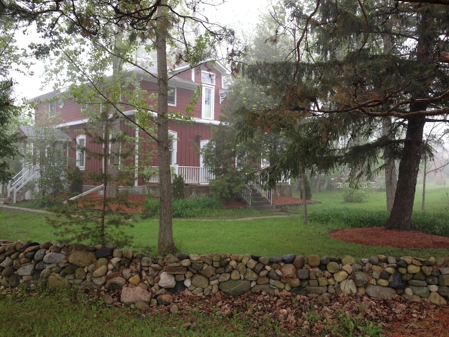 Large country home close to everything maisons louer nottawa ontario canada - Canada maison close ...