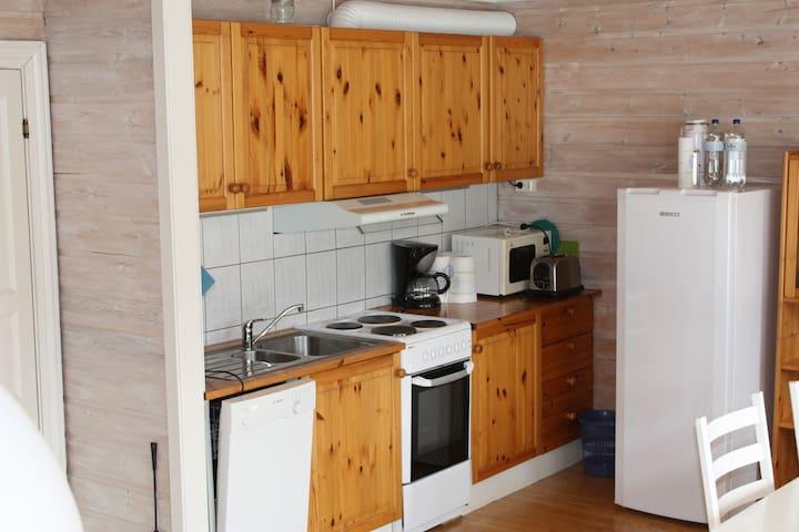 Boathouse apartment  ground floor - Hjelmeland - Apartament