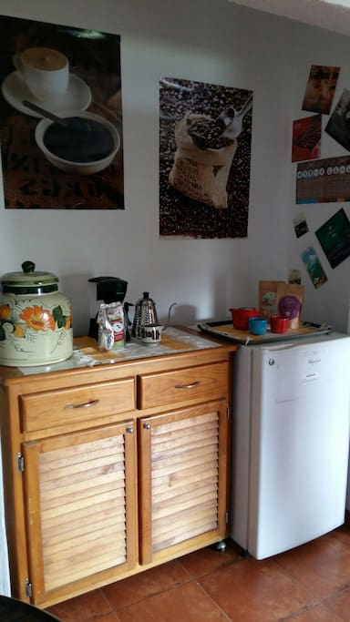 Área de café o té