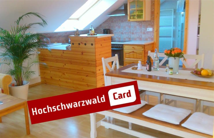 Holiday home HAUS MARIA  70m²   - Sankt Blasien - Apartament