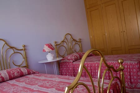 Habitación doble con baño propio. - Ávila