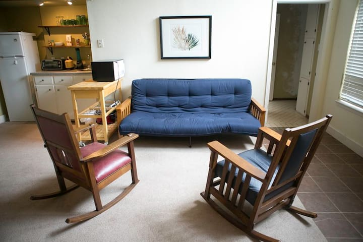 Comfortable new futon / couch.