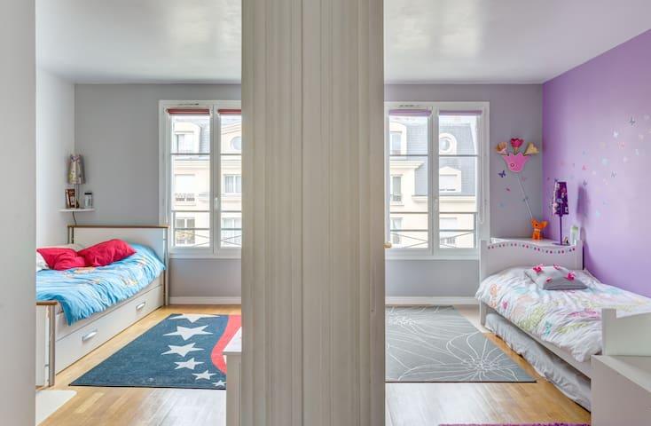 2 bedrooms in big apartment