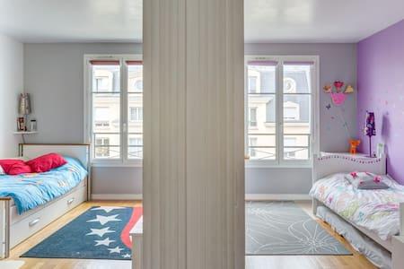 2 bedrooms in big apartment - La Garenne-Colombes