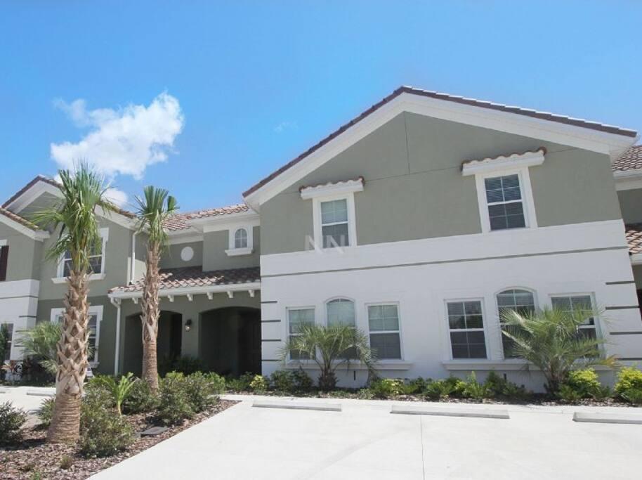 Disney vacation home at solterra resort casas para for Casas decoradas x fuera