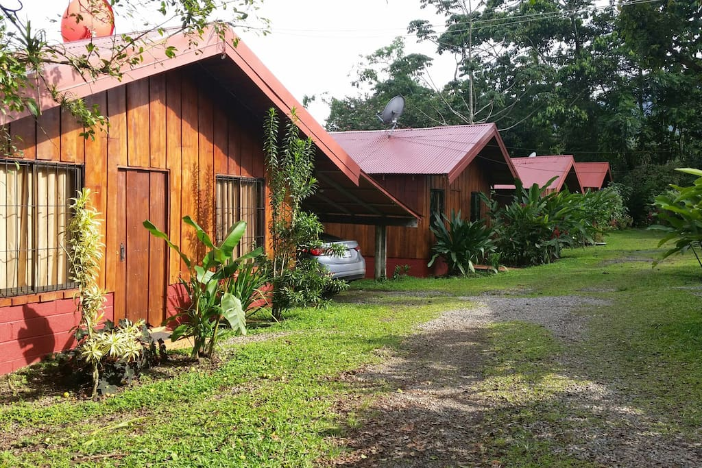 Furnished 2 bedroom cabins