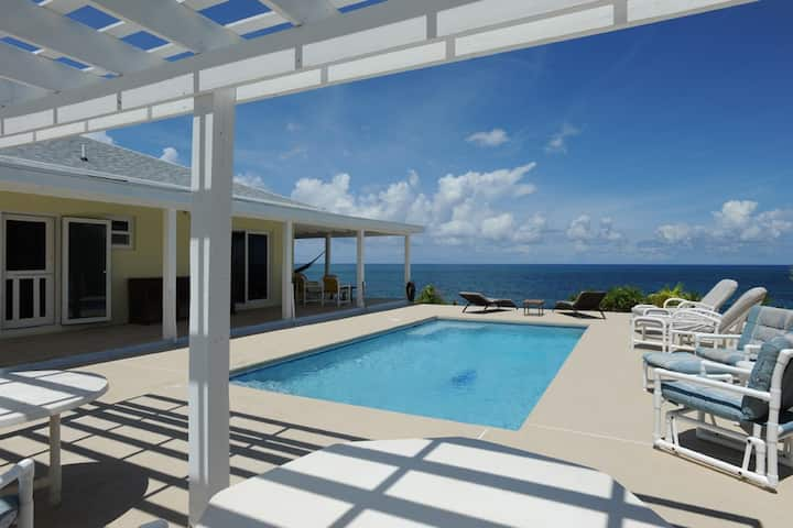Beachfront House w/Pool, Totally Secluded Beach