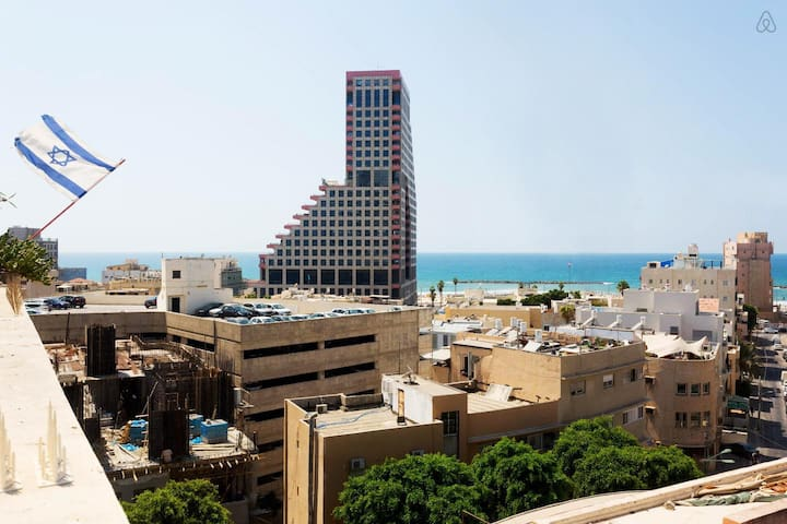 AMAZING 2BD DUPLEX 2min BEACH - Tel Aviv-Yafo - Apartment