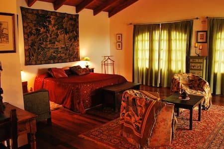 suite médiévale avec jacuzi - San Antonio de Arredondo - Haus