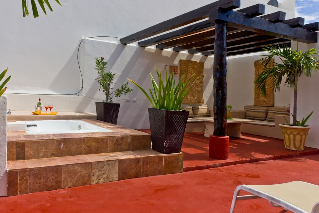 Your Private Roof Top Hot Tub
