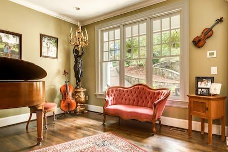 Lake House B&B Luxurious Spacious Lakefront - Home - Chapel Hill