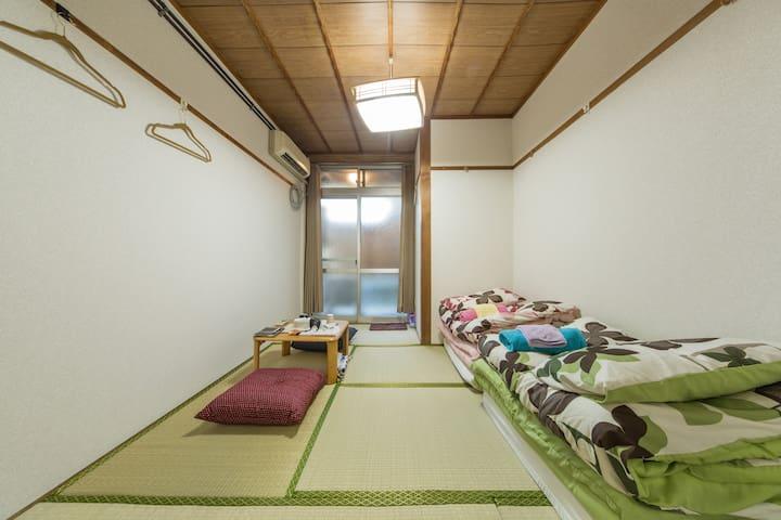 Kyoto apt.  金閣寺&等持院 2Bikes Wi-Fi - Kyōto-shi Kita-ku - Apartemen
