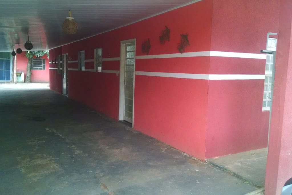 Garagem/ varanda