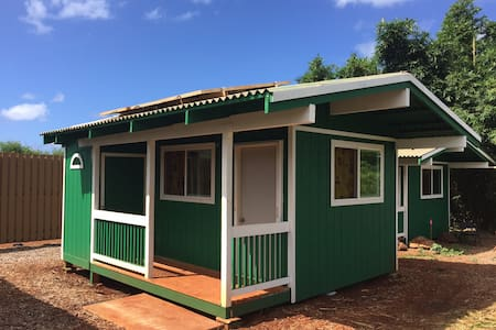 Comfortable Cabin on Organic Farm - Waialua