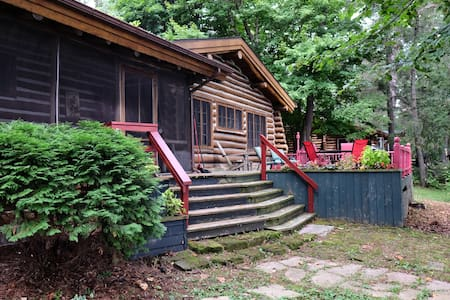 Charming Log Cabin on Tainter Lake - Menomonie