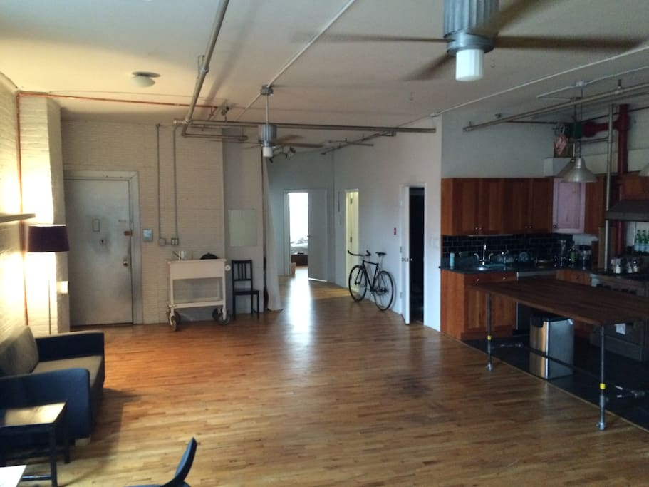 Perfect Room In Williamsburg Loft Apartments For Rent In