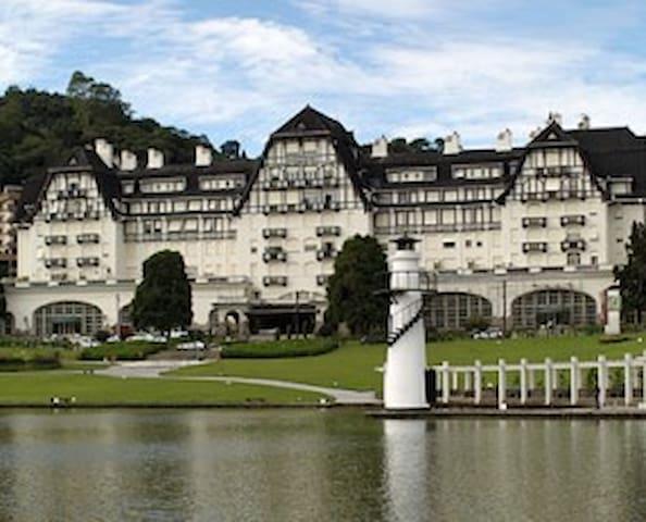 Palácio Quitandinha em Petrópolis.