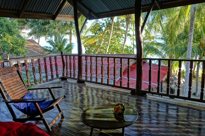 Jungle Lodge at the beach - Ko Pha Ngan - Ortak mülk
