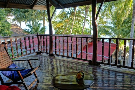 Jungle Lodge at the beach - Ko Pha Ngan