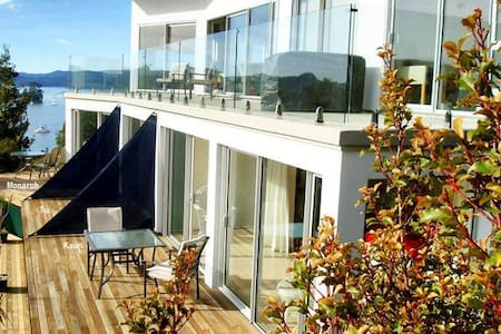 The Kauri Suite, Cherry Bay Lodge. - Opua