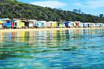 Mt Martha bathing boxes
