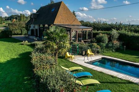 Maison de 5 chambres avec piscine - Lécaude - Dom
