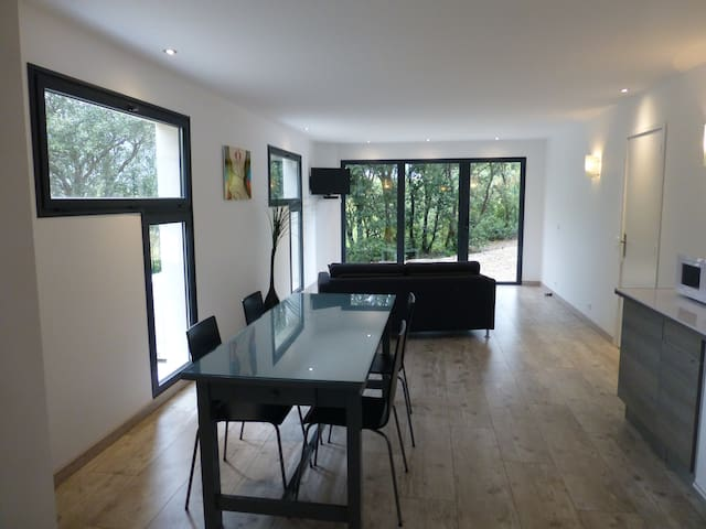 APPARTEMENT DS VILLA CONTEMPORAINE - Roche-Saint-Secret-Béconne - Apartemen
