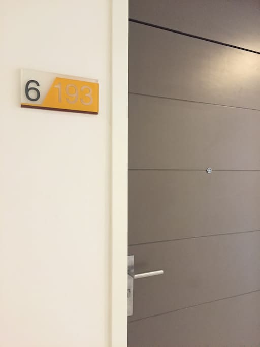 Room no. 6/193 on 5th floor