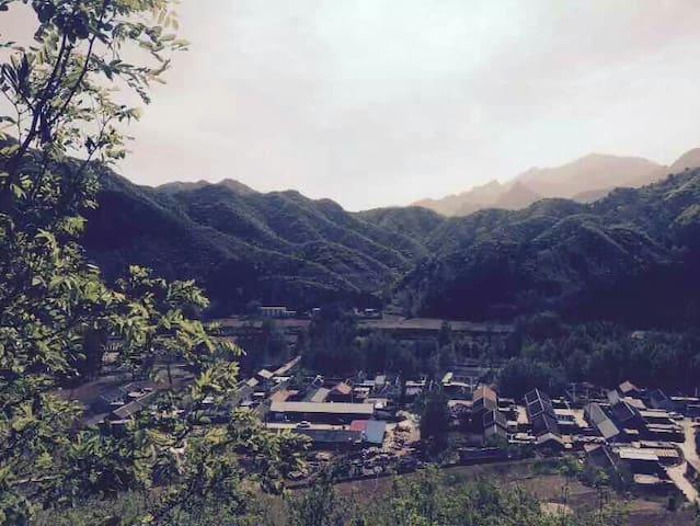 开阔的阳光景观私家小院,临近古北水镇,坐落雾灵山脚下。 - Beijing - Lainnya