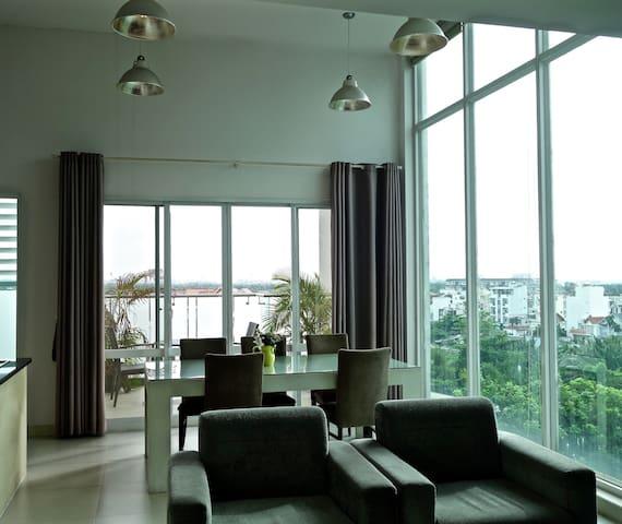 Spacious 2 Bedroom penthouse - Ho Chi Minh City - Apartemen