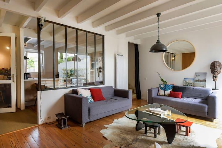Belle maison rénovée Bouscat centre - Le Bouscat - Hus