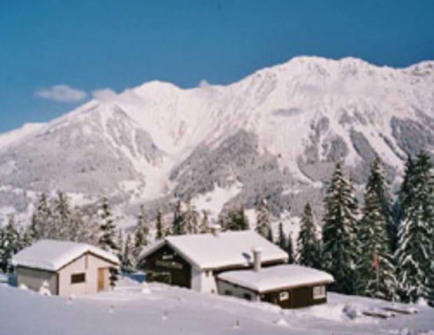 Riedhuus Berghaus - Davos - Rumah