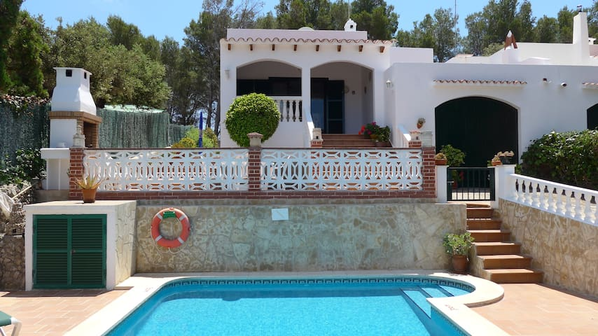 Charming Menorca villa with pool - Cala Galdana - Huis