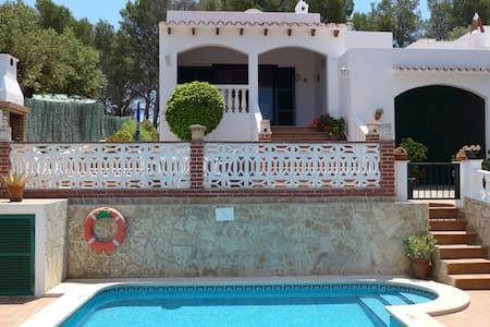 Charming Menorca villa with pool - Cala Galdana