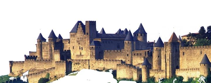 La plus belle vue sur la Cité Médiévale !