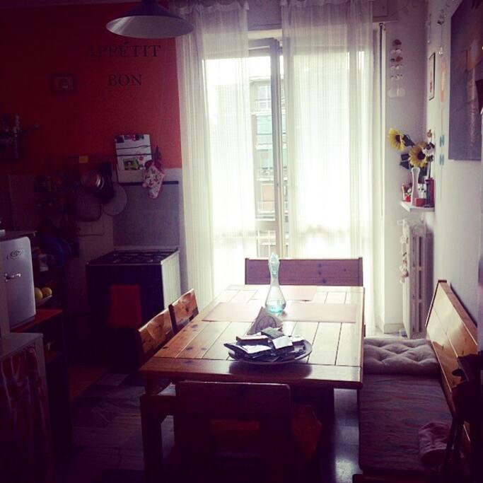 La cucina, Centro Della Casa/ The kitchen room center of my house